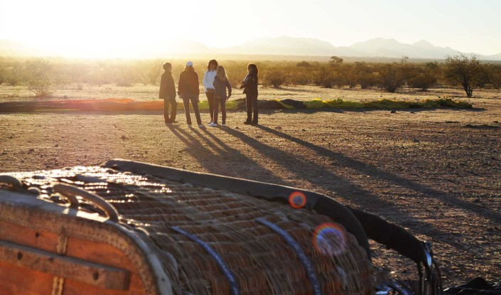 Hot Air Balloon rides that are really good in Arizona