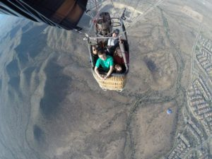 Hot Air Balloon Rides in Arizona