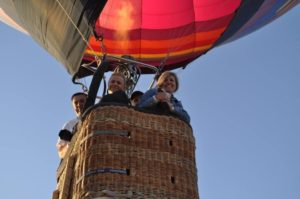 Best family hot air balloon rides in Arizona