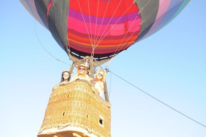 Hot Air Balloon Ride in Arizona with Friends