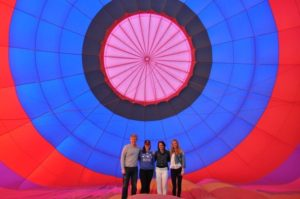 private hot air ballon rides in Arizona