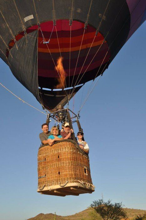 Hot air balloon rides in Phoenix, AZ