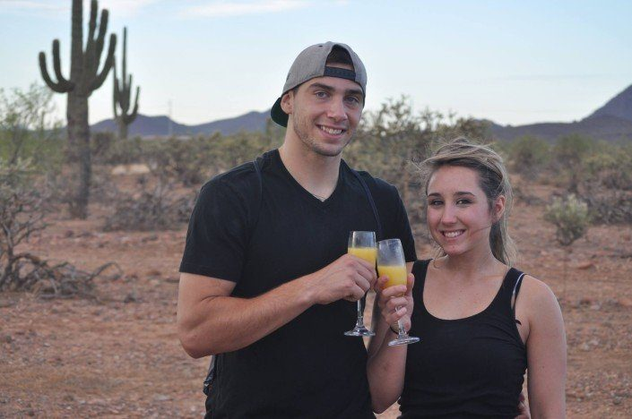 Hot Air Ballon rides for Couples in AZ
