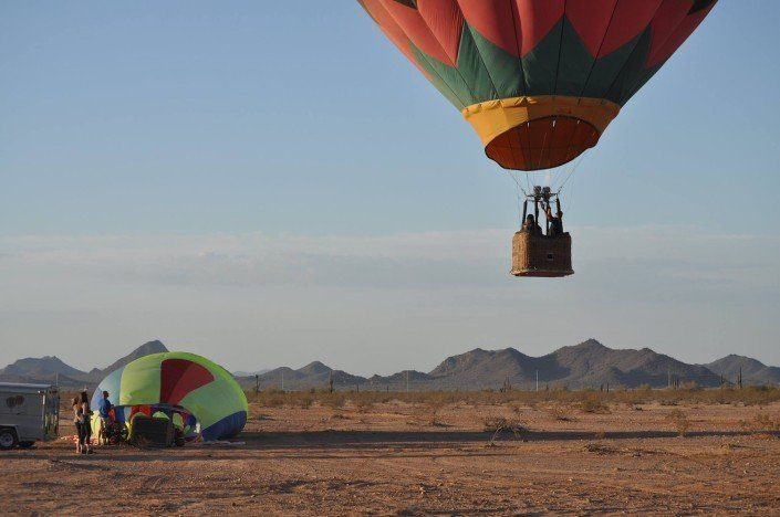 Schedule best hot air balloon ride in Arizona