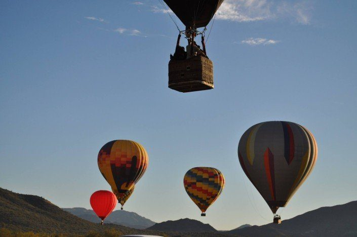 The best hot air balloon Rides in Arizona state
