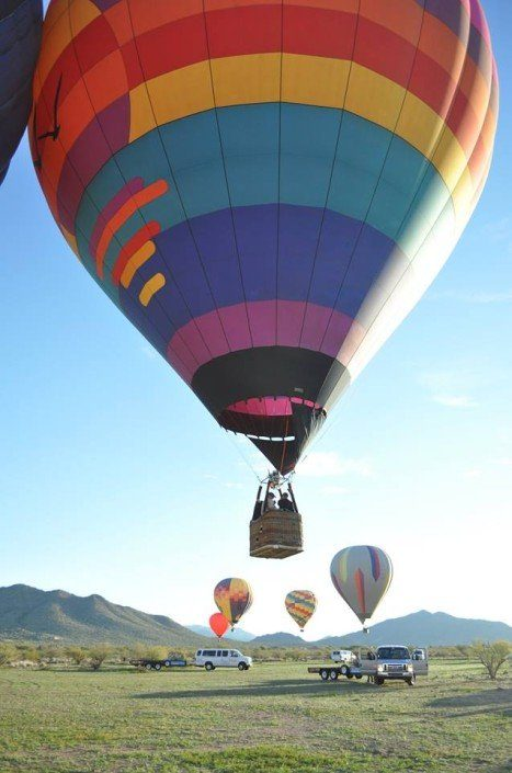 Best Hot Air Balloon Rides in Scottsdale, Arizona