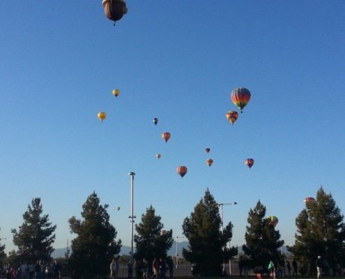 Awesome hot air balloon rides in Arizona