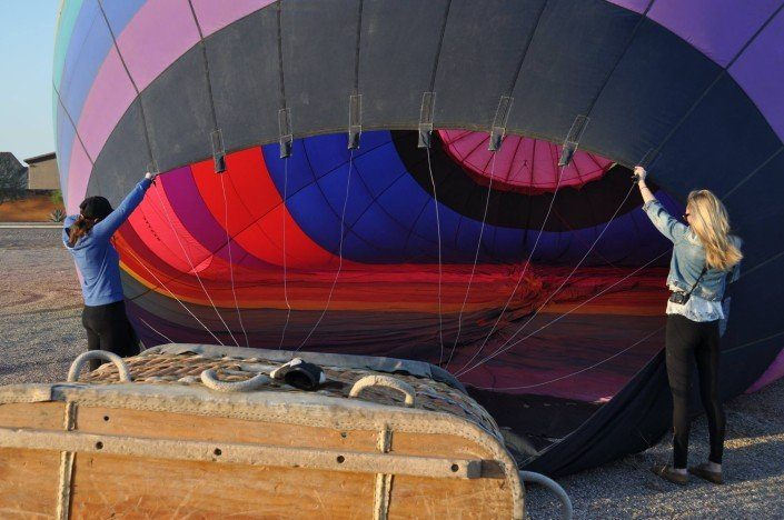 Hot Air Balloon Rides for friends and family in Arizona