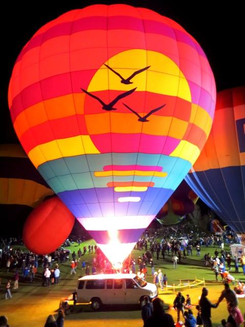 Hot Air ballon Ride Festival in Arizona