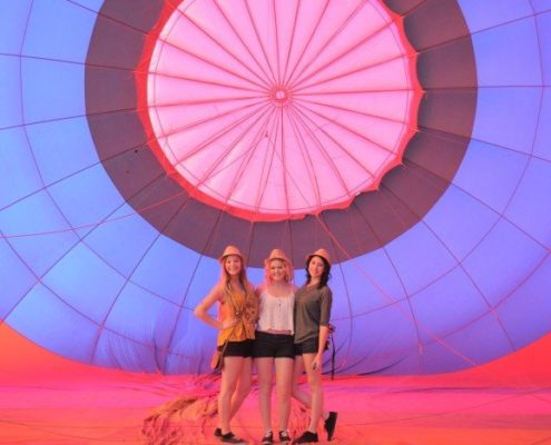 Hot Air balloon rides with friends in Arizona