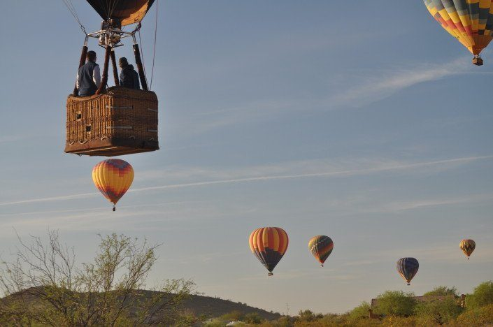 Arizona Hot Air Balloon Trips