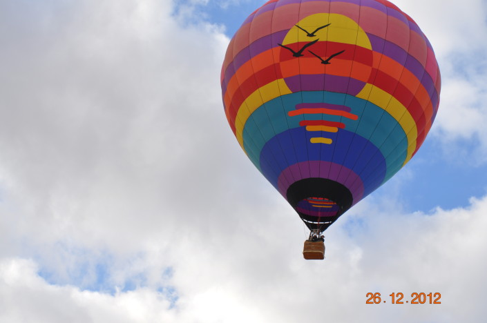 Private hot air balloon rides in Arizona